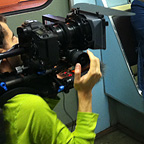Filming in the Saint Petersburg metro – Saint Petersburg, Russia